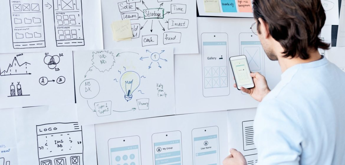 Creating design for smartphone users