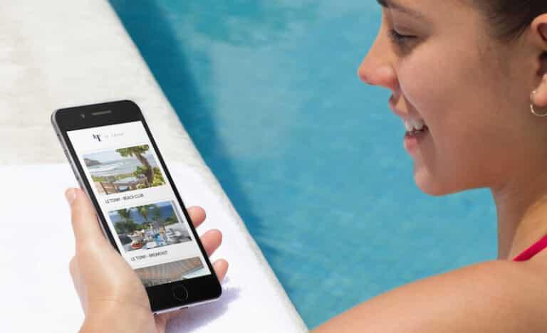 système digital hotel